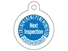 Next inspection month and year tag