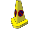 No parking cone, 510mm high