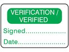 Verification verified label