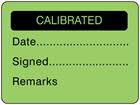 Calibrated fluorescent label