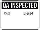 Jumbo QA Inspected label - 250 pack