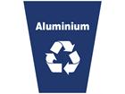 Aluminium waste sack