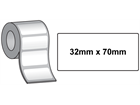 Tamper evident labels, 32mm x 70mm