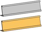 Deskplate, holder, standard style