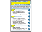 Personal protective equipment information pocket guide.