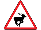 Wild animals sign