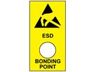 ESD bonding point label.