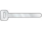 Aluminium ties.
