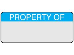 Property of aluminium foil labels.