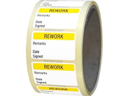 Rework Quality Assurance Label Zl1120 Label Source
