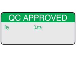 QC approved aluminium foil labels.