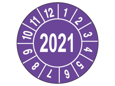 Inspection 2021 and month label