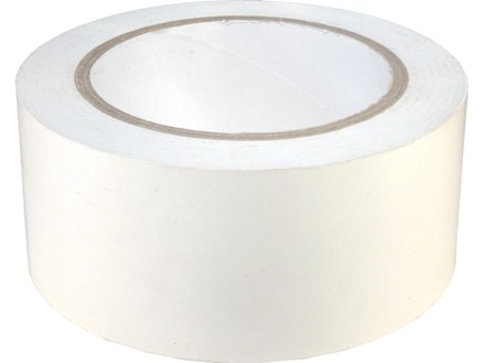 Safety and floor marking tape, white.