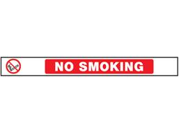 No smoking barrier tape