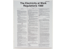 Electricity at work notice