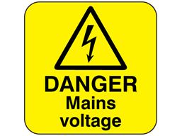 Danger mains voltage