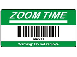 Scanmark+ barcode label (logo / full design), 19mm x 38mm