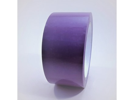 Safety and floor marking tape, violet.