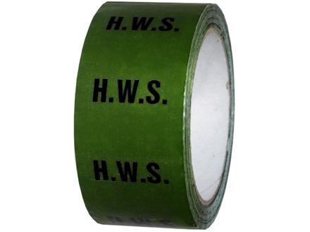 H.W.S pipeline identification tape.