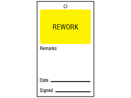 Re-work tag