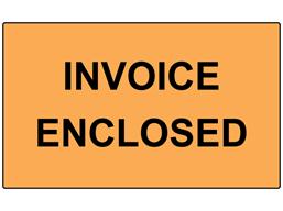 Invoice enclosed labels