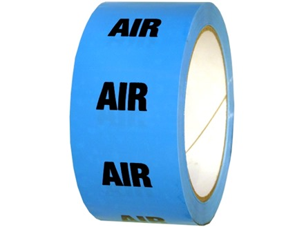 Air pipeline identification tape.