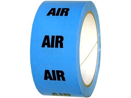 Air pipeline identification tape.