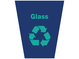 Glass waste sack