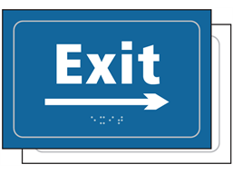Exit, arrow right sign.