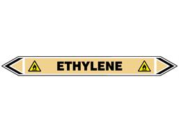 Ethylene flow marker label.