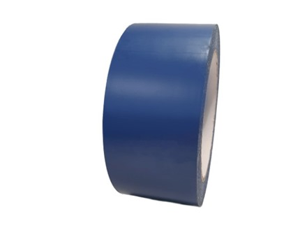 Safety and floor marking tape, blue.