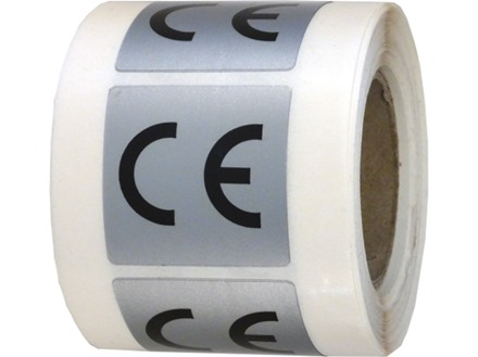 CE symbol labels.