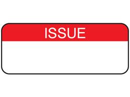 Issue maintenance label.