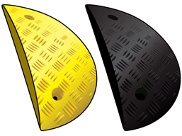 Speed ramp end cap sections