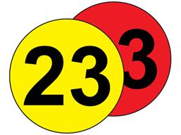 Aisle floor markers, 23