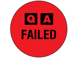 QA Failed label