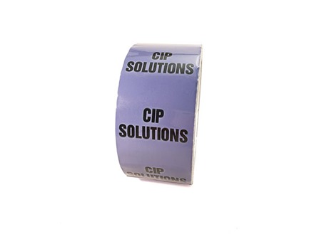 CIP solutions pipeline identification tape.