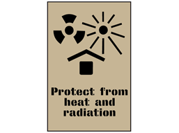 Protect from heat and radiation stencil