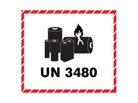 Un3480 Lithium Ion Battery Label Hwp1040 Label Source