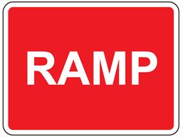 Ramp sign
