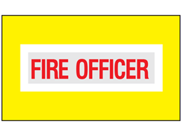 Fire officer safety armband