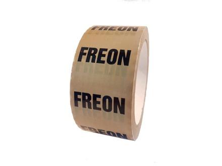 Freon pipeline identification tape.