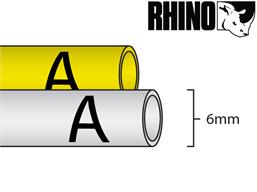 Dymo Rhino heat shrink tube tape (6mm)
