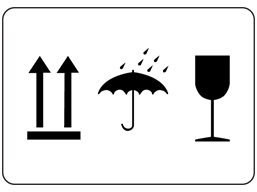 This Way Up / Keep Dry / Fragile Labels