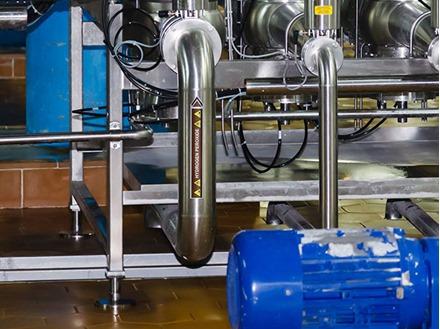 Hydrogen peroxide flow marker label.
