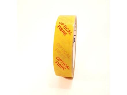 Optical fibre tape.