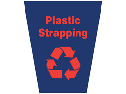 Plastic strapping waste sack