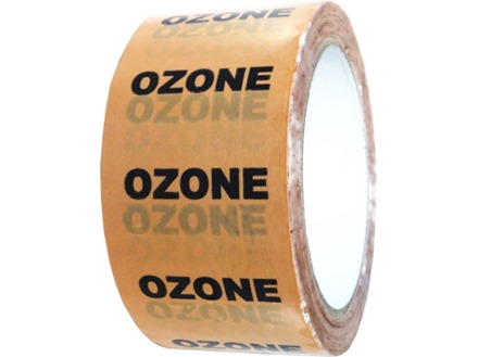 Ozone pipeline identification tape.