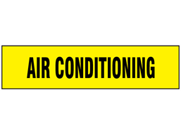 Air Conditioning label
