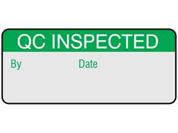 QC inspected aluminium foil labels.